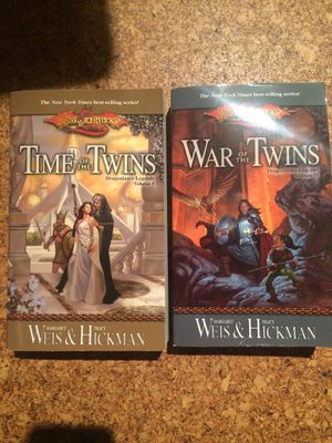Lot of two Dragonlance novels from Legends series by Weis and Hickman for Sale in Wilmington, DE
