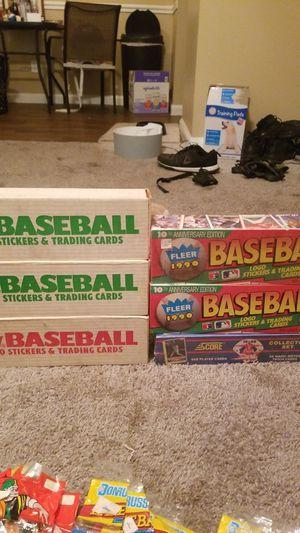 1989-1990 Baseball Season sets for Sale in Chandler, AZ