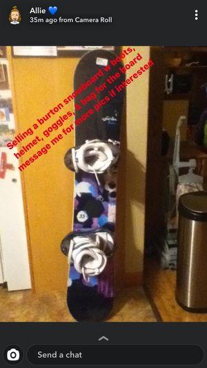 Burton snowboard for Sale in North Royalton, OH