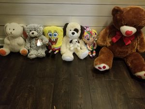 Stuffed animal bundle. All are like new. for Sale in Pineville, LA