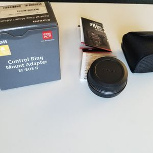 Canon EF-EOS R Control Ring Mount Adapter for Sale in Milton, WA
