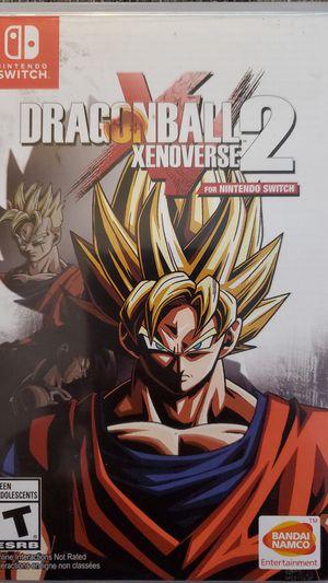 Nintendo Switch Dragonball Xenoverse 2 for Sale in Santa Ana, CA