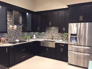 Espresso Kitchen Cabinets - Showroom Display for Sale in Miramar, FL