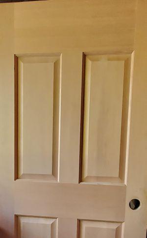 BRAND NEW Solid cedar wood interior doors 30x80 in. 4 panel door design. *HALF OFF RETAIL PRICE* for Sale in Bonney Lake, WA