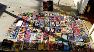 HUGE Comic book lot AND POKEMON, ACTION COMICS, SPIDERMAN, BATMAN for Sale in Garden Grove, CA