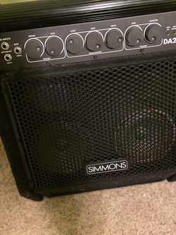 Simmons DA200S Electronic Drum Set Monitor for Sale in Damascus,  OR