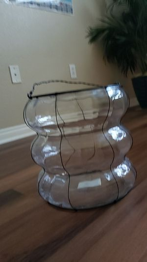 Terrarium or glass vase or candle holder for Sale in Rancho Cucamonga, CA