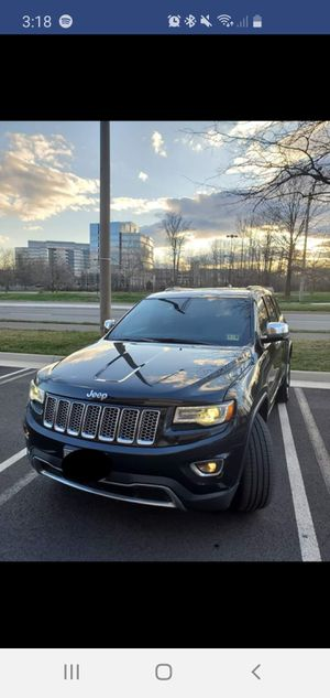 2014 Jeep Grand Cherokee Limited Sport Utility 4D for Sale in Fairfax, VA