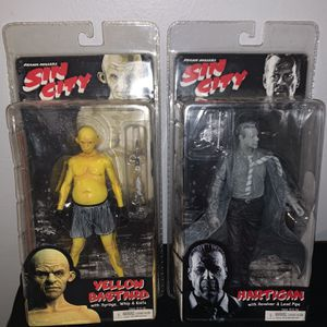 Sin City Action Figures for Sale in Pompano Beach, FL