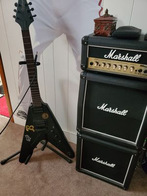 Guitar and amplifier for Sale in Baltimore, MD