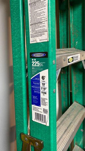 6 foot ladder Werner model fs206 for Sale in Ashland, MA