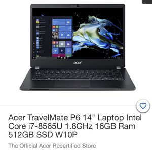 "Brand New) Acer Travelmate P6 ""14"" Inch for Sale in Stockton, CA"