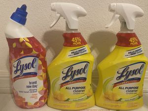 Lysol All purpose cleaner for Sale in Hernando, FL