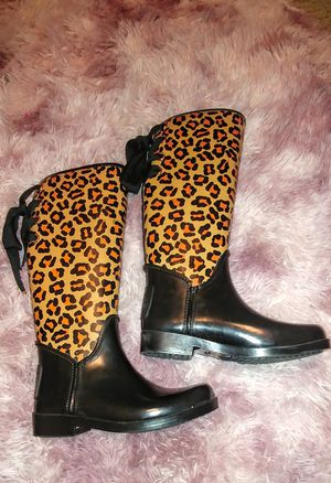 Coach rain boots for Sale in Gaithersburg, MD