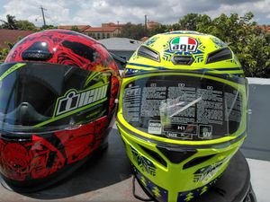 Brand with tags performance motorcycle helmets for Sale in Miami, FL