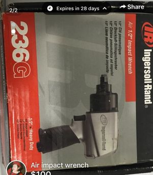 Air impact wrench for Sale in Fairfax, VA