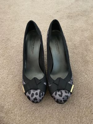 Christian Siriano Leopard Print Heels for Sale in Belmont, CA