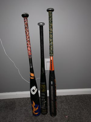 3 baseball bats for Sale in Hicksville, NY