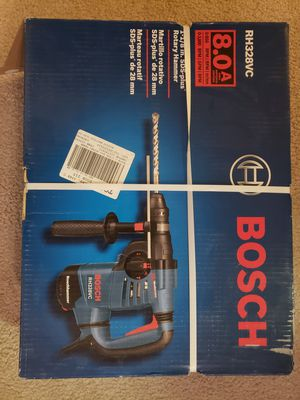 """Bosch RH328VC 1-1/8"""" SDS-Plus Rotary Hammer Drill New for Sale in Garrison, MD"""