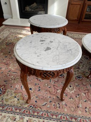 Kimball furniture coffee table and two side tables for Sale in Clovis, CA