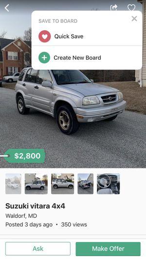 2000 Suzuki for sale for Sale in Arlington, VA