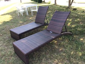 Pair f Outdoor Pool Side Lounge Chairs for Sale in Virginia Beach, VA