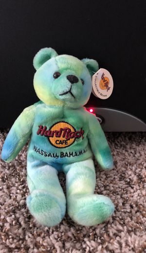 Nassau Bahamas 🇧🇸 beanie baby Hard Rock Cafe for Sale in East Point, GA