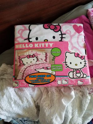 Hello Kitty Twin Sheet Set for Sale in Aurora, CO