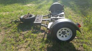 Car tow dolly $1,200 price firm cash only. Has brand new tires on it for Sale in Saint Charles, MI