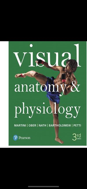 Visual Anatomy and physiology, 3rd Ed for Sale in Diamond Bar, CA