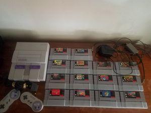 Super Nintendo bundle for Sale in Philadelphia, PA