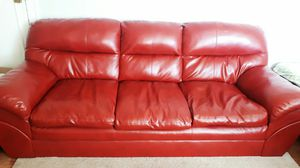 Like New Leather Sofa for Sale in Detroit, MI