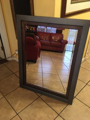 Mirror brand new in box Ashley size 34 x43 inches for Sale in South Gate, CA