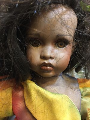 Beautiful mixed race little girl doll for Sale in Largo, FL