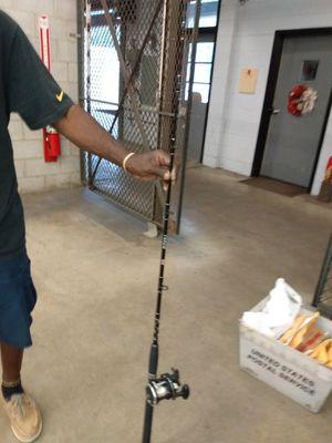 Penn rival fishing rod for Sale in S CHESTERFLD, VA