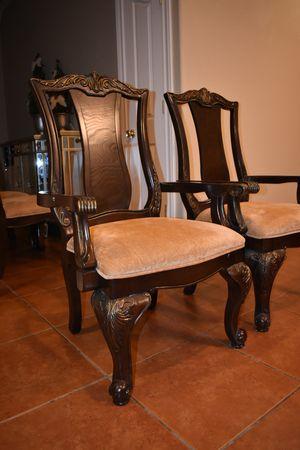 Ornate Formal Dining Chair Set for Sale in Abilene, TX