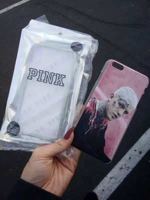 Brand New, Victoria Secret, PINK iPhone XR Case & Lil Peep iPhone 8 Plus Case for Sale in Avondale, AZ