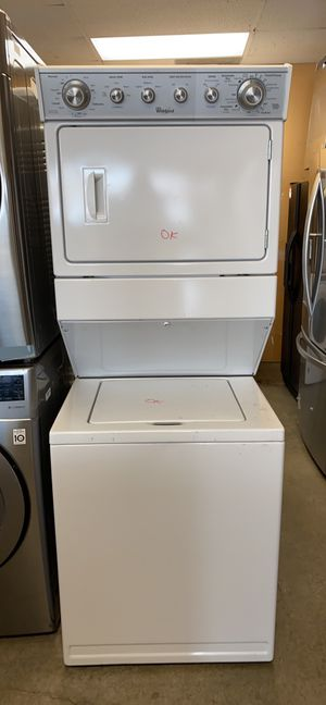 REFURBISHED WHIRPOOL STACKUNIT WASHER AND DRYER for Sale in Alexandria, VA