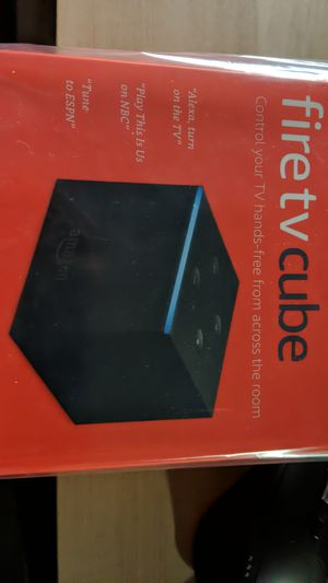 New sealed Amazon fire TV cube 4k hdr for Sale in Bellevue, WA