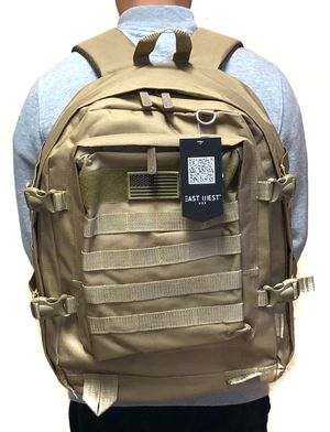 SALE! Tactical military style Backpack molle camping hiking fishing work gym flag school book travel bag for Sale in Carson, CA