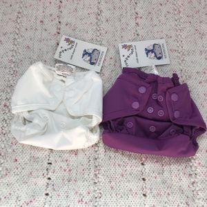 Set of 2 Rumparooz Newborn Cloth Diaper Covers for Sale in Orlando, FL