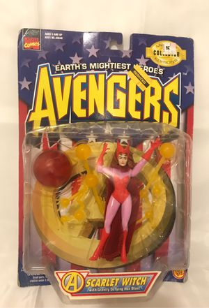 Avengers Scarlet Witch Toy Biz Action Figures for Sale in El Paso, TX