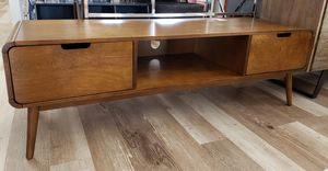 NEW Mid Century Modern Style Media TV Stand: njft livingrm for Sale in Burlington, NJ