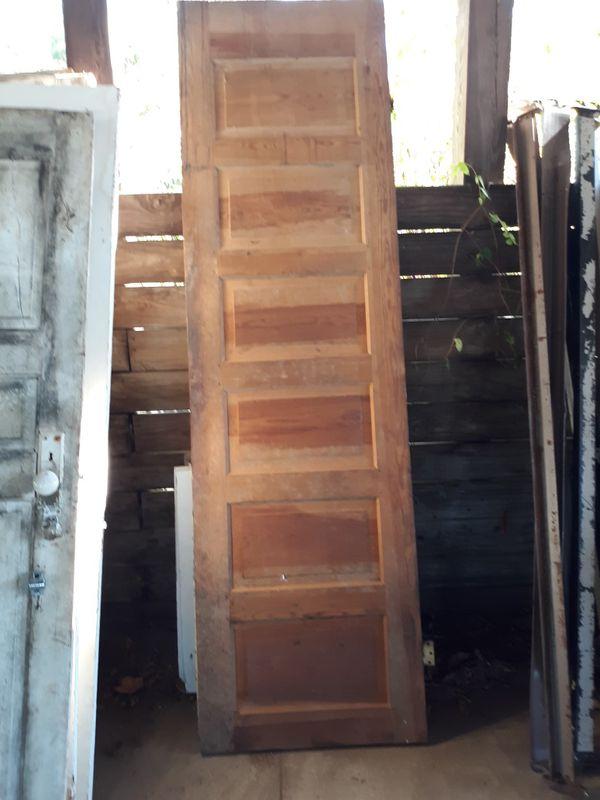 Unique Vintage Solid Wood door