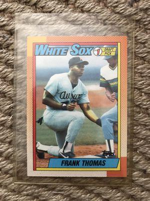 RARE! 1990 Topps Frank Thomas ROOKIE #414 Baseball Card The Big Hurt! for Sale in La Mirada, CA