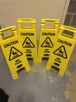 Caution Signs for Sale in Arlington, VA