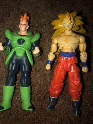 Dragonball Z figures (Goku SS3 & Android 16) for Sale in Stockton, CA