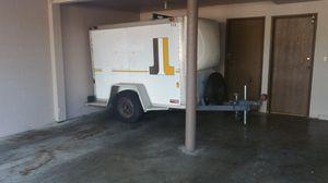 Fruehauf enclosed cargo trailer aluminum U-Haul utility hauler Motorcycle ATV Equipment Plumber Construction Moving for Sale in Lynnwood, WA