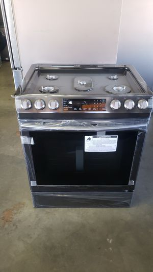 New Samsung Gas Slide in stove $39●🎁🏦🏡 for Sale in Los Angeles, CA