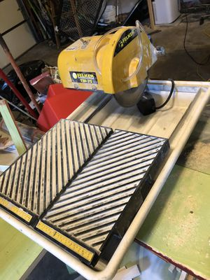 Tile saw for Sale in Sykesville, MD